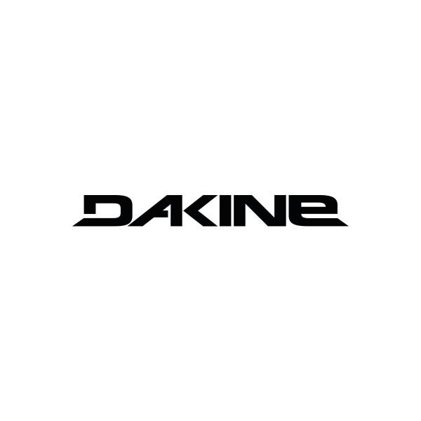 Dakine Rail Logo 8'' Plotted Aufkleber Black (20 x 3 cm)