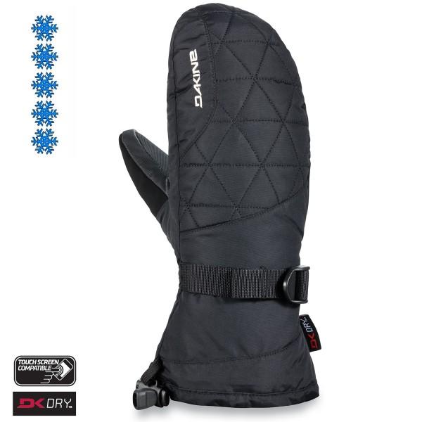 Dakine Leather Camino Mitt Damen Handschuhe Fäustlinge Black