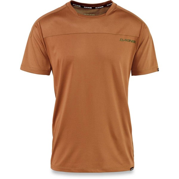 Dakine Charger S/S Jersey Herren Bike Jersey Red Earth