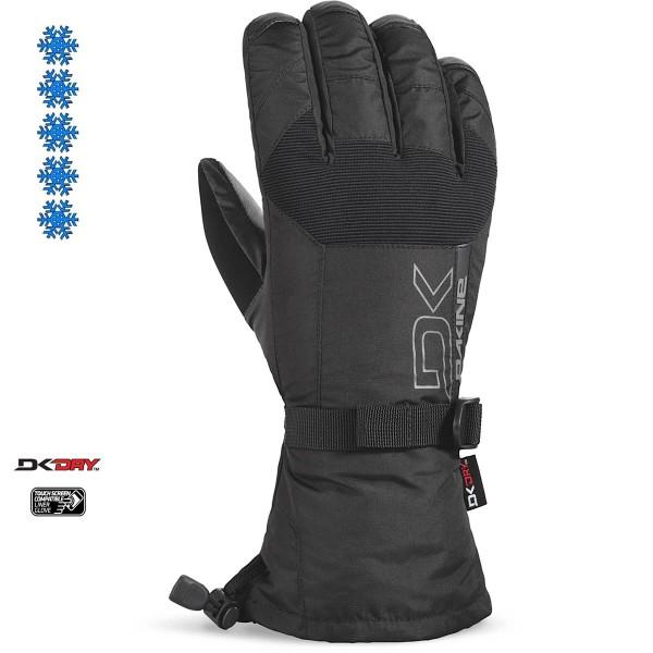Dakine Leather Scout Glove Herren Ski- / Snowboard Handschuhe mit Innenhandschuh Black