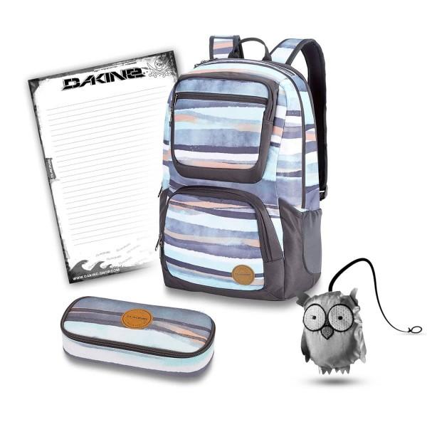 Dakine Jewel 26L + School Case + Emma + Block Schulset Pastel Current