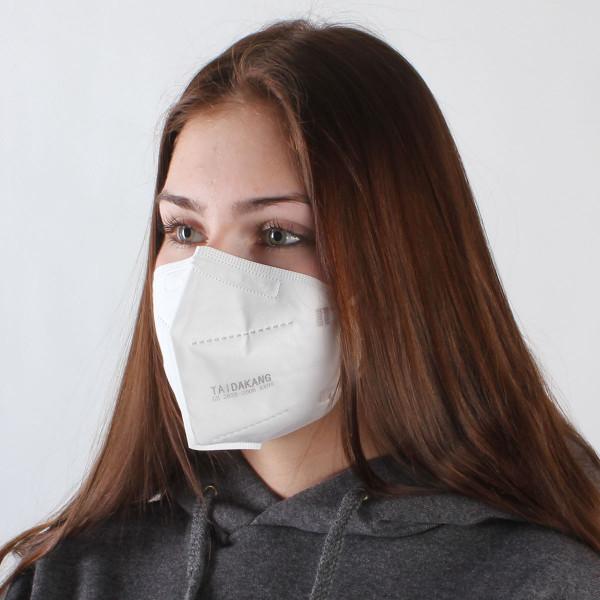 FFP2 Maske - TÜV u. DEKRA zertifiziert - 5er Pack