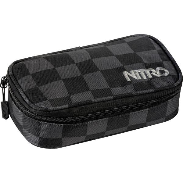 Nitro Pencil Case XL Federmäppchen Black Checker