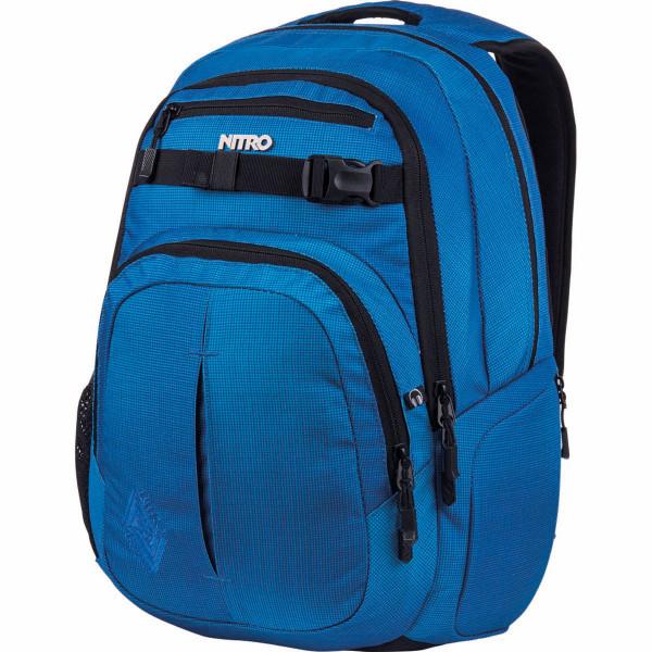 Nitro Chase 35L Rucksack mit Laptopfach Blur Brilliant Blue
