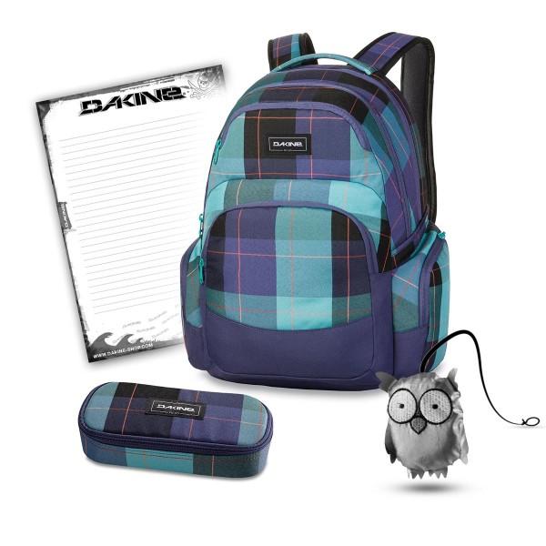 Dakine Otis 30L + School Case + Emma + Block Schulset Aquamarine