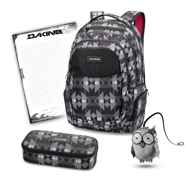 Dakine Prom SR 27L + School Case XL + Emma + Block Schulset Fireside II