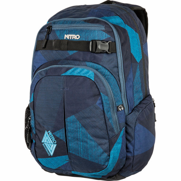 Nitro Chase 35L Rucksack mit Laptopfach Fragments Blue
