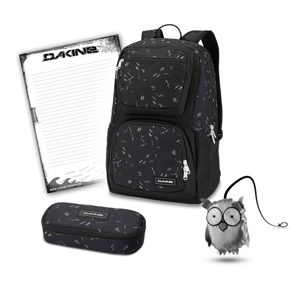 Dakine Jewel 26L + School Case + Emma + Block Schulset Slash Dot