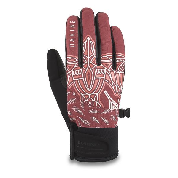 Dakine Electra Glove Damen Ski- / Snowboard Handschuhe Dark Rose Vesper