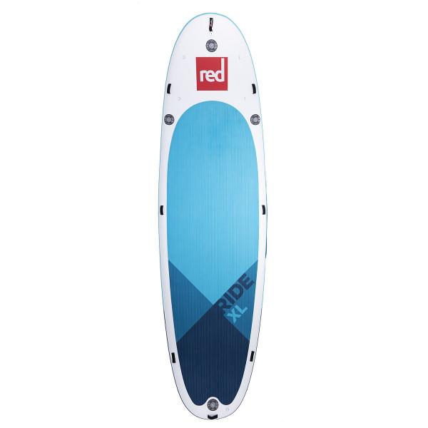 RED SUP Board RIDE XL 17' x 60'' x 8'' MSL mit 4x Ezee Pumpe - SUP Board aufpumpbar