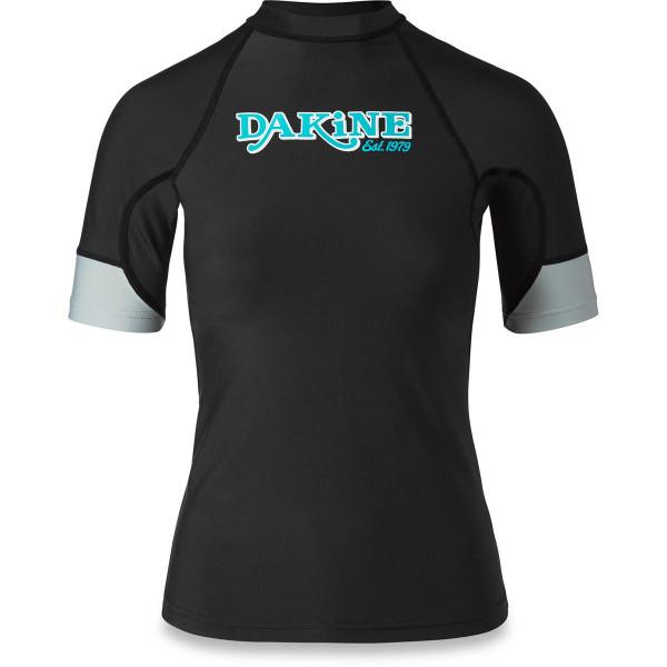 Dakine Womens Flow Snug Fit S/S Damen Lycra Black