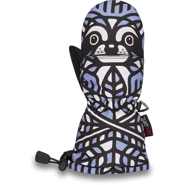 Dakine Scrambler Mitt Toddler Kleinkinder Ski- / Snowboard Handschuhe Raccoon