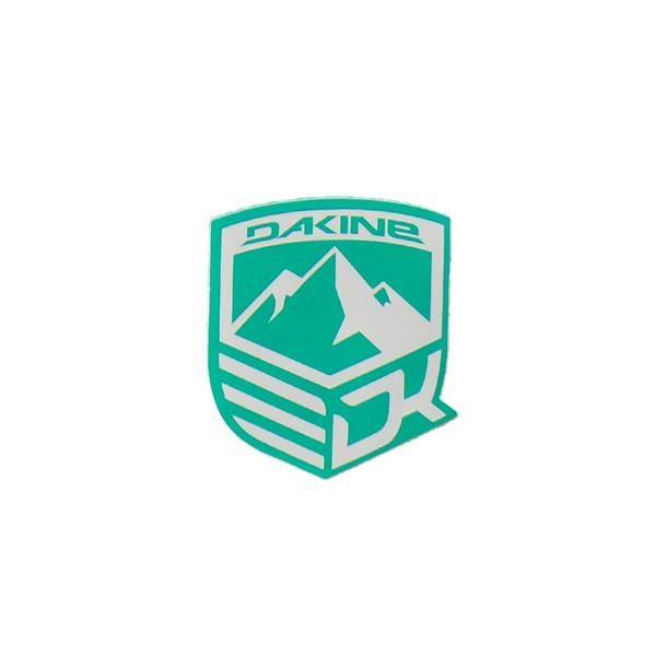 Dakine Mountain Aufkleber Green (9 x 10.5 cm)