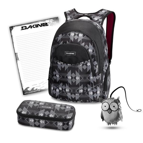 Dakine Prom 25L + School Case XL + Emma + Block Schulset Fireside II