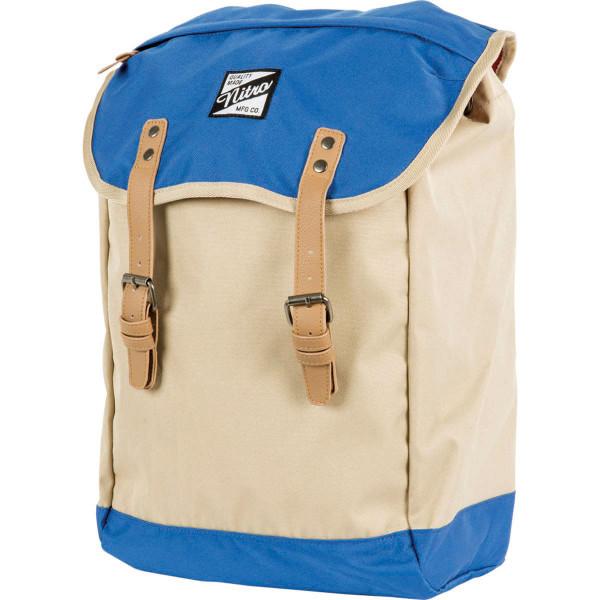 Nitro Venice 28L Rucksack mit Laptopfach Blue Khaki