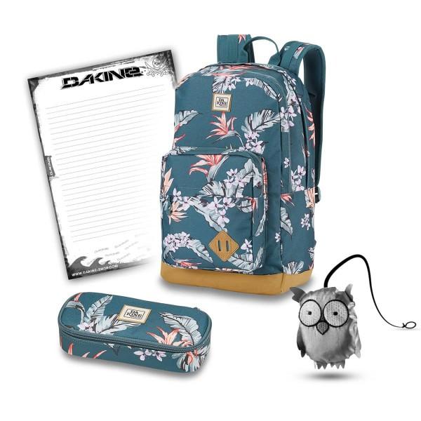 Dakine 365 Pack DLX 27L + School Case + Emma + Block Schulset Waimea