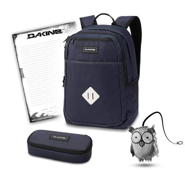 Dakine Essentials Pack 26L + School Case + Emma + Block Schulset Night Sky