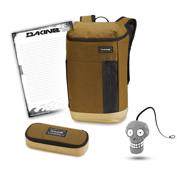 Dakine Concourse 25L + School Case + Harry Block Schulset Tamarindo