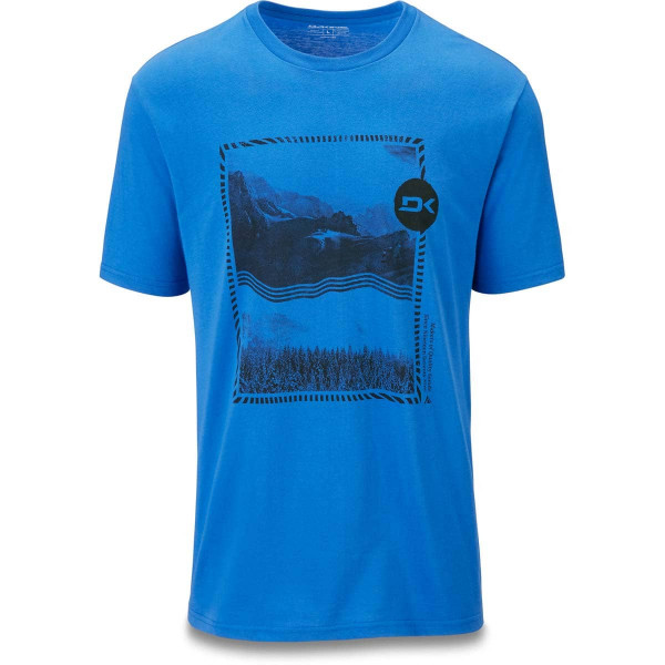 Dakine Indelible Herren T-Shirt Cobalt Blue