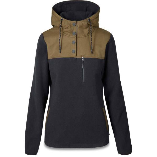 Dakine Parker Fleece Sweatshirt / Pullover für Damen Black / Dark Olive