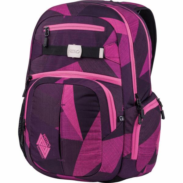 Nitro Hero 37L Rucksack mit Laptopfach Fragments Purple