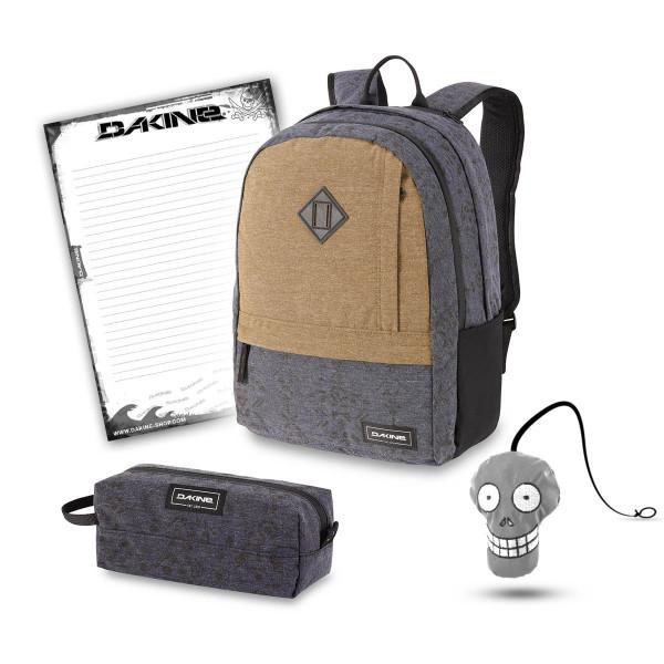 Dakine Essentials Pack 22L + Accessory Case + Harry + Block Schulset Night Sky Geo