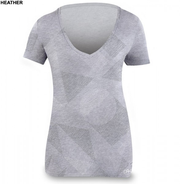 Dakine Block Party Girls T-Shirt Heather