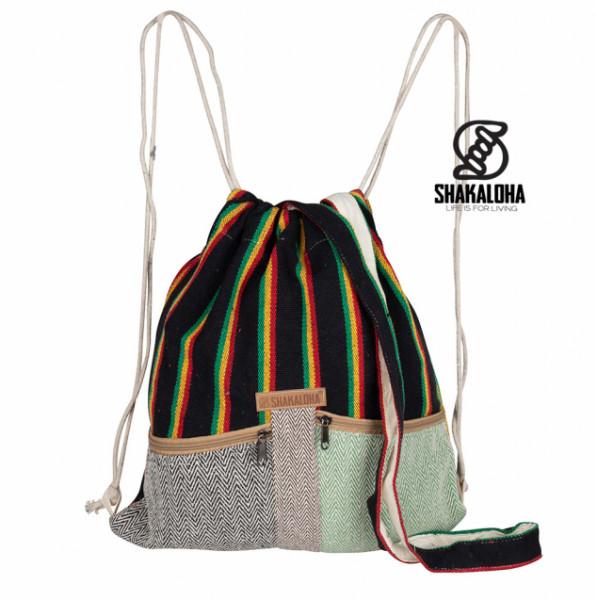 Shakaloha Hicker Bag Black Stripes