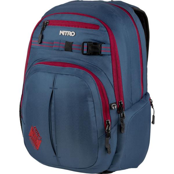 Nitro Chase 35L Rucksack mit Laptopfach Blue Steel