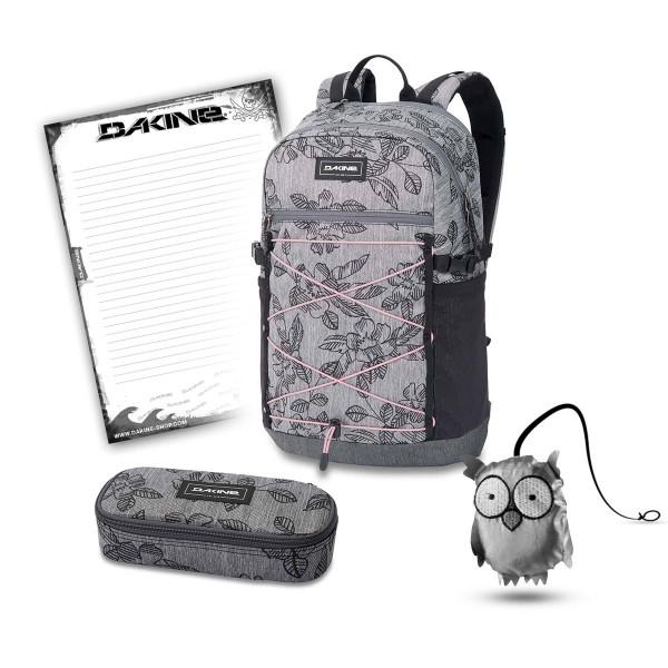 Dakine WNDR Pack 25L + School Case + Emma + Block Schulset Azalea