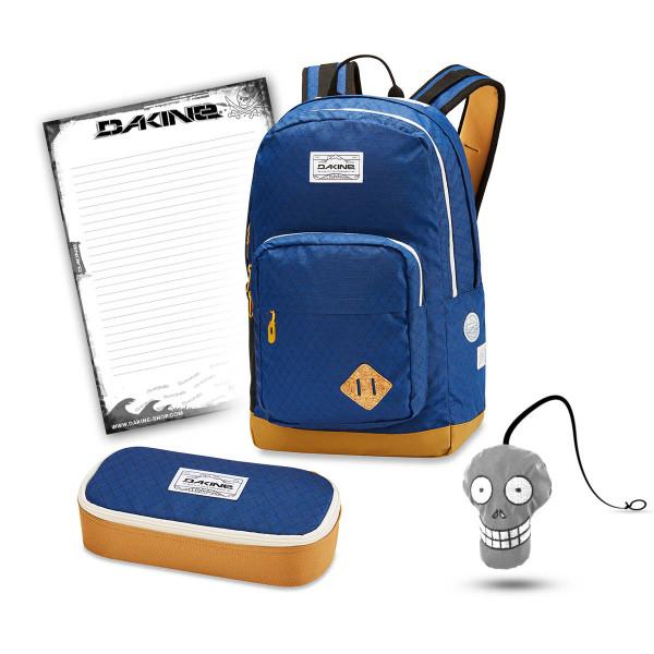 Dakine 365 Pack DLX 27L + School Case XL + Harry Block Schulset Scout
