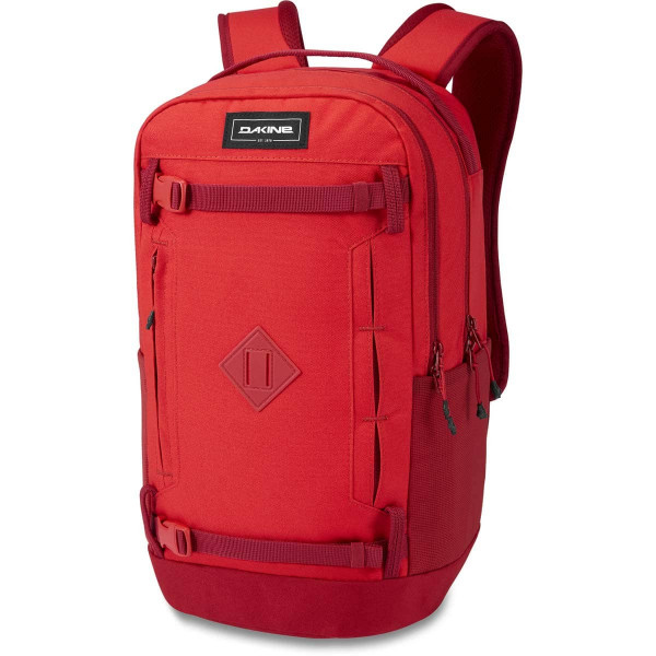 Dakine URBN Mission Pack 23L Rucksack mit iPad/Laptop Fach Deep Crimson