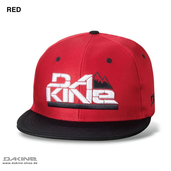 Dakine STACKED Fitted Cap Red