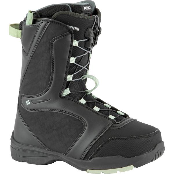 Nitro Flora Tls Boot 21 Snowboard Boots Black-Mint