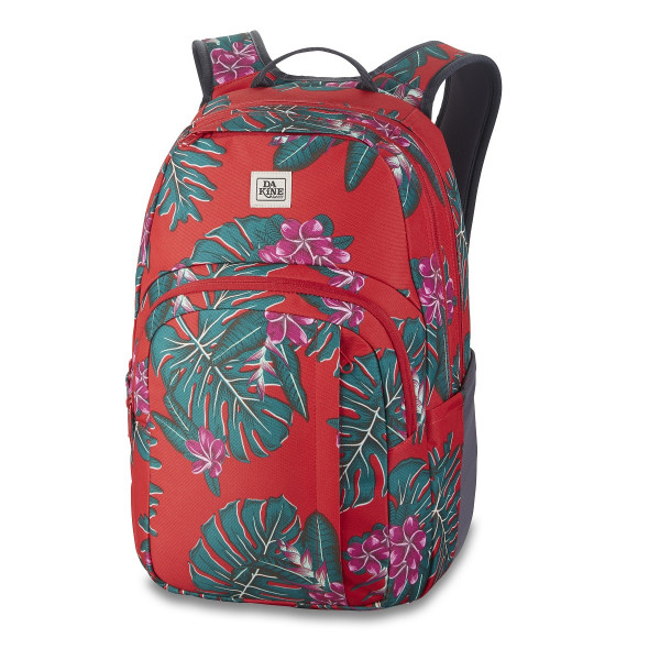 Dakine Campus M 25L Rucksack mit Laptopfach Red Jungle Palm
