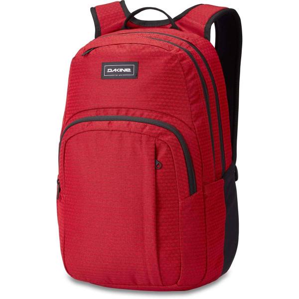 Dakine Campus M 25L Rucksack mit Laptopfach Crimson Red