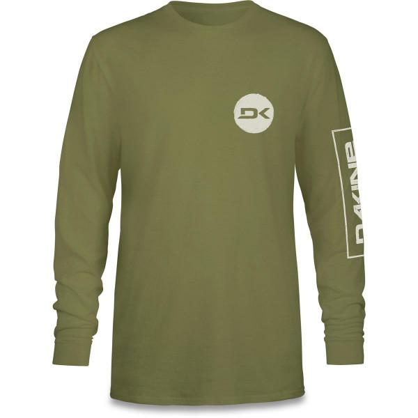 Dakine Team Mission L/S T Shirt Herren Olive Drab