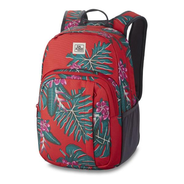 Dakine Campus S 18L Rucksack mit iPad Fach Red Jungle Palm