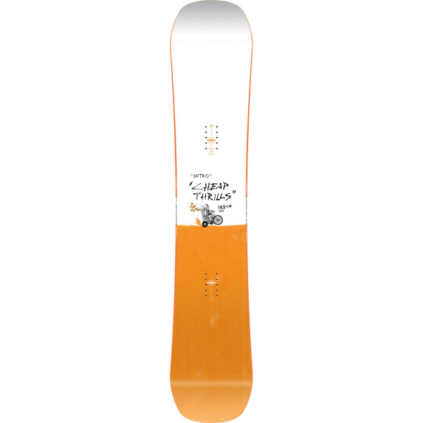 Nitro Cheap Trills Wide Brd 21 Snowboard
