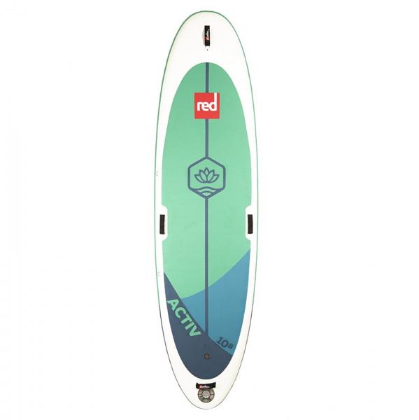 RED SUP Board ACTIV 10'8'' x 34'' x 6'' MSL mit TITAN Pumpe - SUP Board aufpumpbar