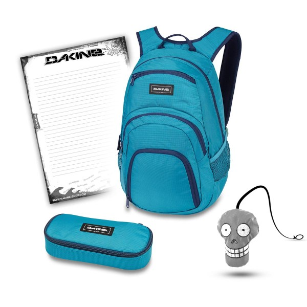 Dakine Campus 25L + School Case + Harry + Block Schulset Seaford