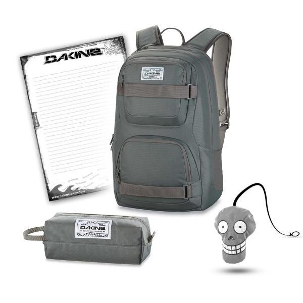 Dakine Duel 26L + Accessory Case + Harry + Block Schulset Slate