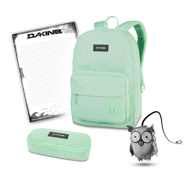 Dakine 365 Pack 30L + School Case + Emma + Block Schulset Dusty Mint