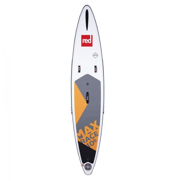 RED SUP Board MAX RACE 10'6'' x 25'' x 4.7'' MSL mit TITAN Pumpe & RSS - SUP Board aufpumpbar