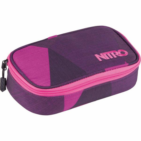 Nitro Pencil Case XL Federmäppchen Fragments Purple