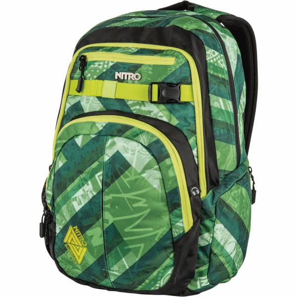 Nitro Chase 35L Rucksack mit Laptopfach Wicked Green