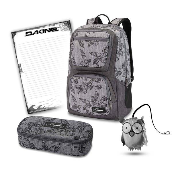 Dakine Jewel 26L + School Case XL + Emma + Block Schulset Azalea