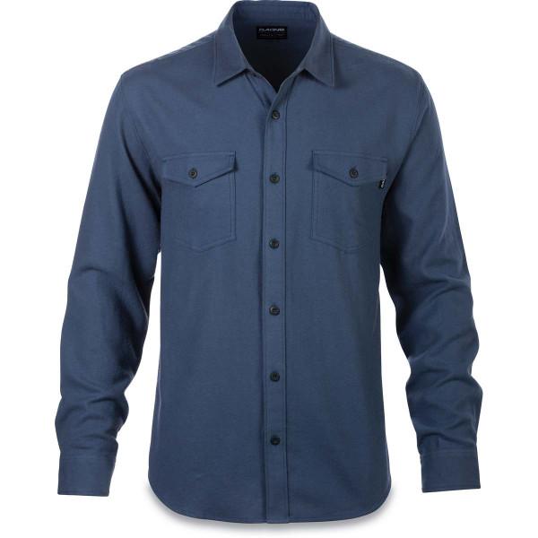 Dakine Grover Flannel Herren Hemd Washed Indigo