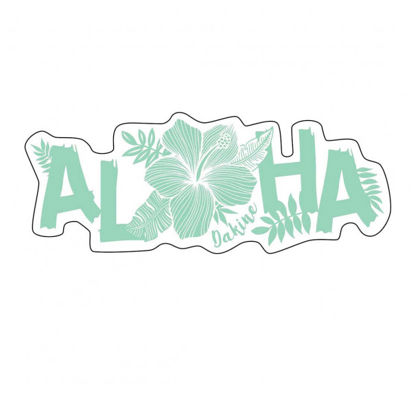 Dakine Aloha Sticker Aufkleber Turquoise (13 x 5 cm)