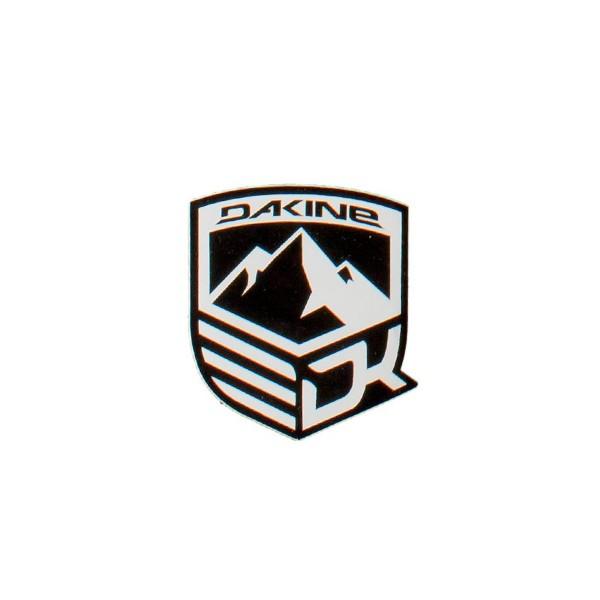 Dakine Mountain Aufkleber Black (9 x 10.5 cm)